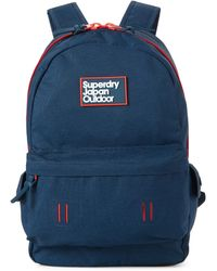 Superdry Super Trinity Montana Backpack - Blue