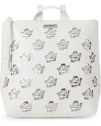 Tahari - White & Silver Rosey Backpack - Lyst