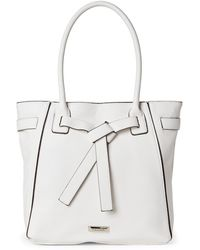 Tahari - French Vanilla Wrapped Up Tote - Lyst