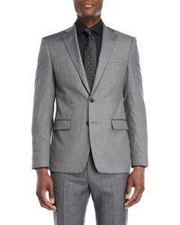 Calvin Klein - Grey X-fit Sport Coat - Lyst