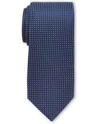 Nautica Navy Tjorn Dot Tie - Blue