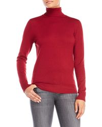 Joseph a Basic Turtleneck Sweater in Green | Lyst
