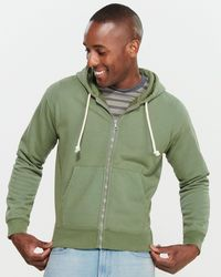 Men's Overdye Digi Camo Hoodie, Olive Green Hooded Sweatshirt