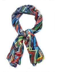 Christian Lacroix - Printed Silk Shawl - Lyst