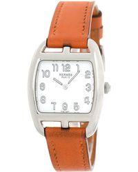 Hermès - Cape Cod Tonneau Watch - Vintage - Lyst