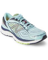 New Balance | Blue Mist & Navy 860 V7 Running Sneakers | Lyst