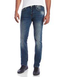 Hudson Jeans - Black Slim Straight Jeans - Lyst