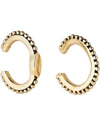 Luv Aj - Gold-tone Marquise Ear Cuff Earrings - Lyst
