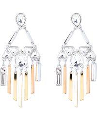 Swarovski - Airy Chandelier Earrings - Lyst