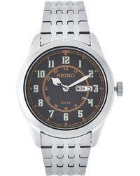 Seiko - Sne445 Silver-tone Recraft Watch - Lyst