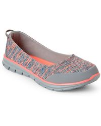U.S. POLO ASSN. - Grey & Coral Alli Slip-on Sneakers - Lyst