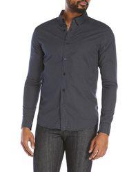 Vestige - Woven Dot Print Shirt - Lyst