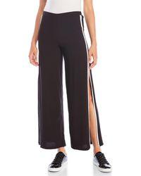 Sans Souci - Open Side Striped Pants - Lyst