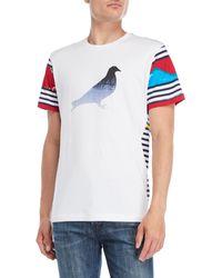 Staple Pigeon - Totem Pigeon Tee - Lyst