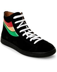Marc Jacobs - Black Lace-up Sneakers - Lyst