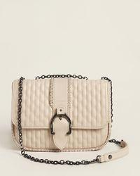 Longchamp - Amazone Craie Leather Shoulder Bag - Lyst