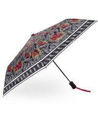 Steve Madden Bandana Rose Umbrella - Multicolor