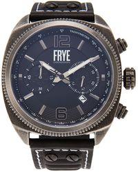 Frye 37fr00008-02 Black Chronograph Watch