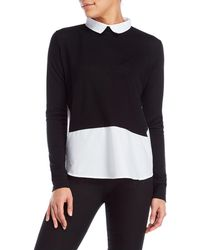 French Connection | Knit Layered-effect Top | Lyst