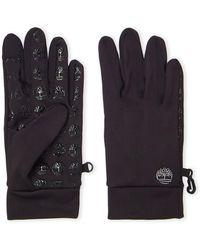 Timberland Black Touchscreen Power Stretch Gloves