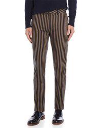 Scotch & Soda - Striped Super Slim Fit Stretch Pants - Lyst