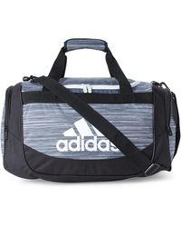 adidas - Black & White Defense Small Duffel - Lyst