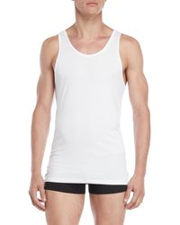 Tommy Hilfiger 3-pack Slim Fit Tanks - White