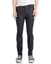 Cheap Monday - Blue Dry Skinny Jeans - Lyst