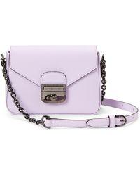 Longchamp - Lilac Le Pliage Heritage Small Crossbody - Lyst