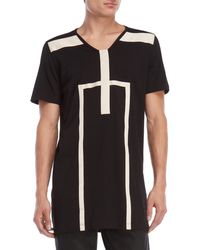 DRKSHDW by Rick Owens - Linear Elongated Tee - Lyst