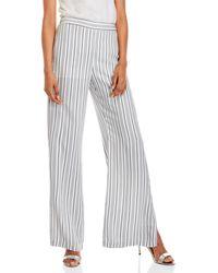 Waverly Grey - Stripe Flare Leg Pants - Lyst
