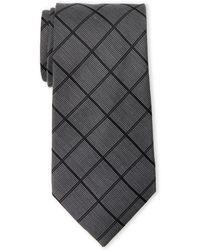MICHAEL Michael Kors - Birch Grid Tie - Lyst