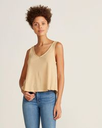 Project Social T - Textured Swing Tank - Lyst