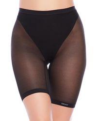 DKNY - Mid-Thigh Mesh Short - Lyst