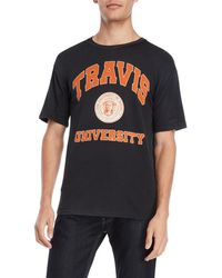ELEVEN PARIS - Travis University Tee - Lyst
