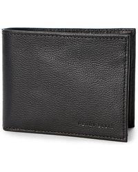 Perry Ellis Portfolio - Leather Bi-fold Passcase - Lyst