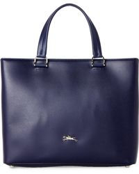 Longchamp - Honore 404 Medium Leather Satchel - Lyst