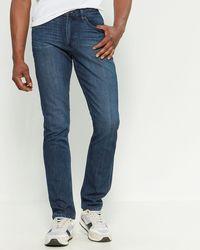 PAIGE Lennox Skinny Jeans - Blue