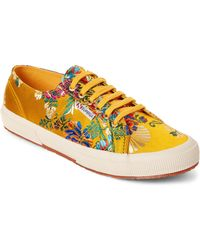 Superga - Mustard 2750 Korelaw Low-top Sneakers - Lyst