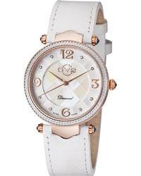 Gv2 - 1003 Sassari Rose Gold-tone & White Diamond Watch - Lyst