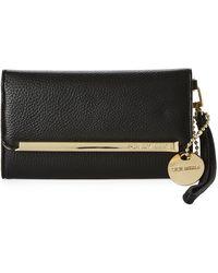 Steve Madden Trifold Wallet (black) Wallet Handbags