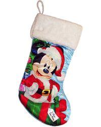 Disney Santa Mickey Christmas Stocking - Multicolor
