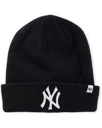 47 Brand - Yankees Raised Cuff Beanie - Lyst