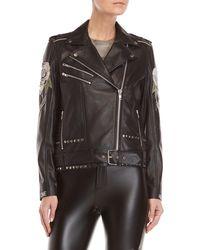 Religion - Blush Biker Moto Jacket - Lyst