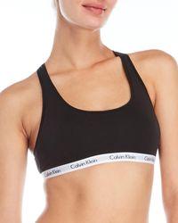 Calvin Klein - 2-Pack Logo Waist Bralettes - Lyst