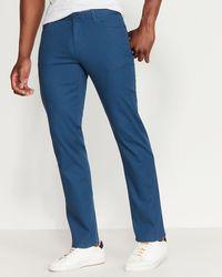Original Penguin Stretch Dobby Slim Fit Pants - Blue