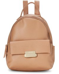 Kenneth Cole Reaction Soft Tan Approach Mid Backpack - Brown