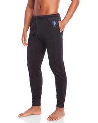 U.S. POLO ASSN. - Logo Fleece Pajama Pants - Lyst