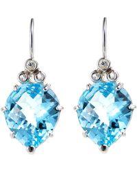 Anzie - Sterling Silver & Topaz Earrings - Lyst