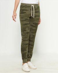 Sweet Romeo Pocketed Drawstring Sweatpants - Green